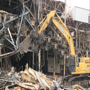Разборка зданий и конструкций