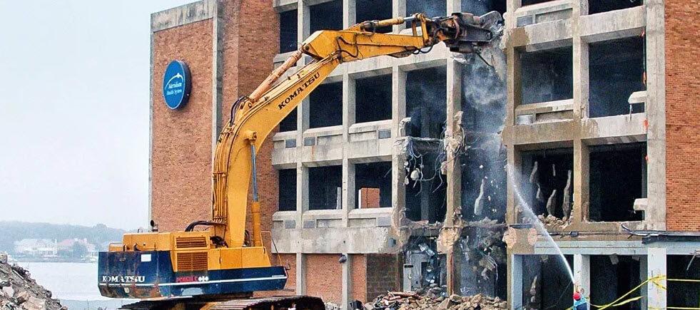 Способы разрушения конструкций