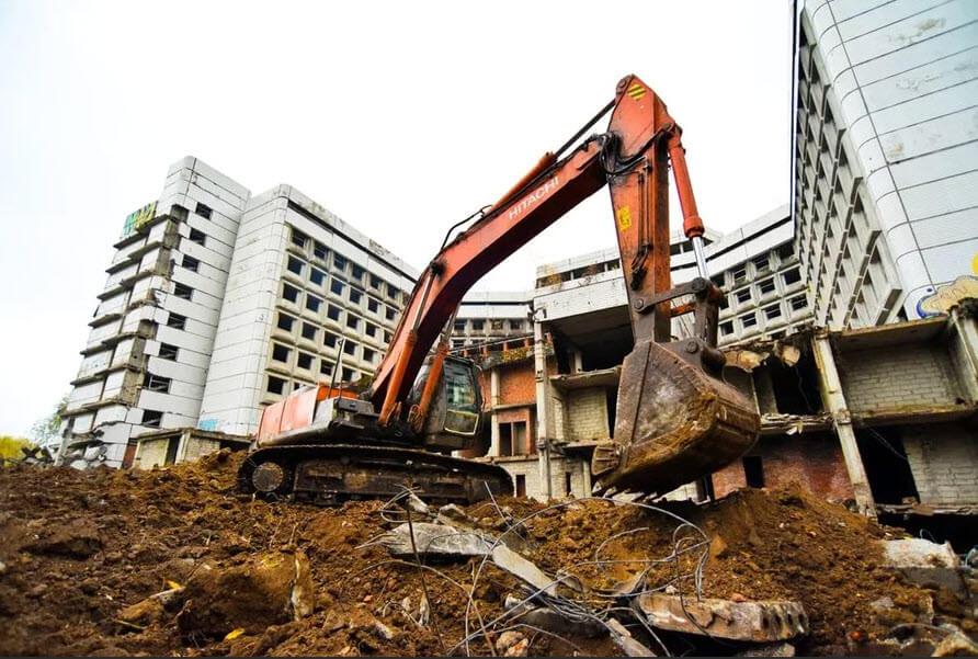 Виды демонтажа зданий и сооружений