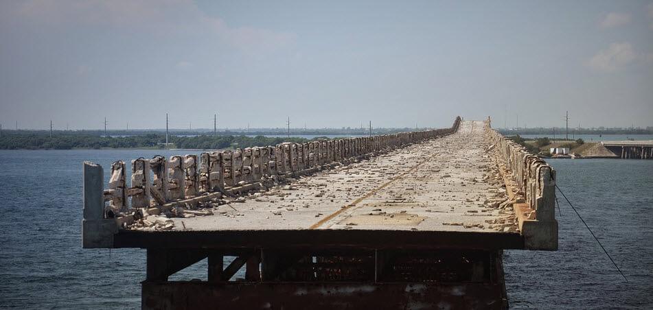 Снос моста
